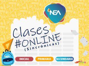 NEA_PLACA imagen destacada_NOTICIAS_Clases online sincronizadas cronograma-01