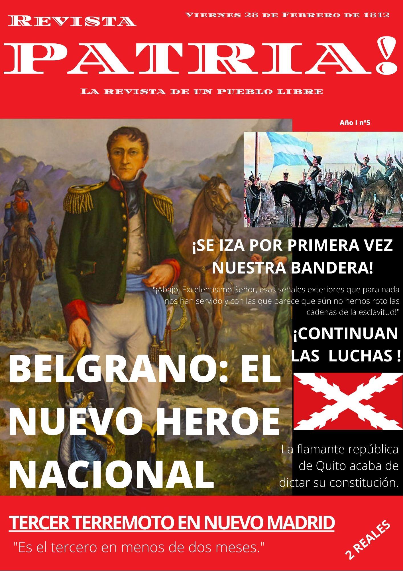 Día de la Bandera (Revista Patria!)