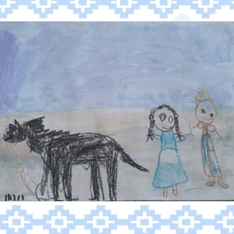 Olivia pintura gauchesca _ Sala Naranja