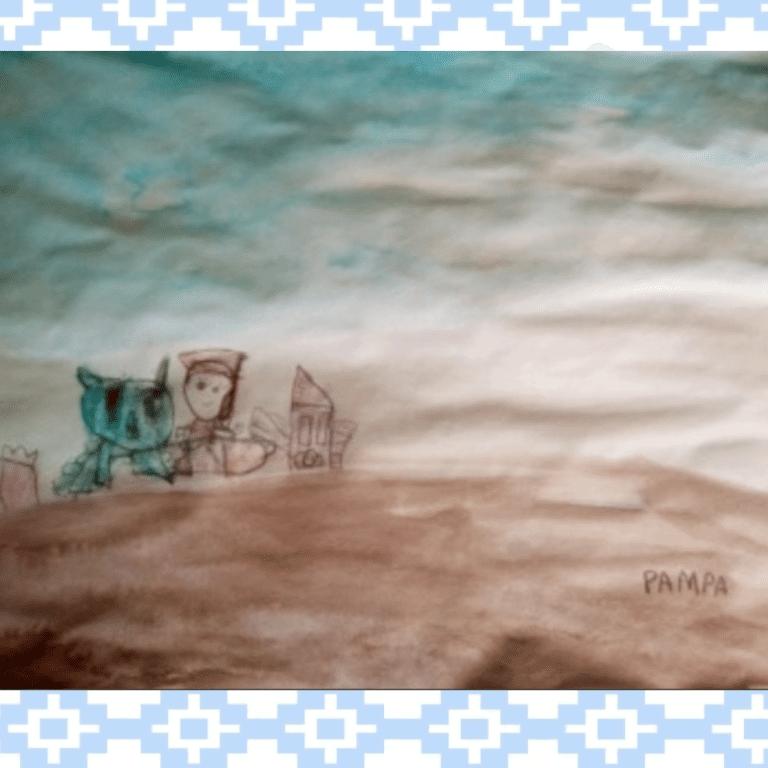 Pampa pintura gauchesca_ Sala Naranja
