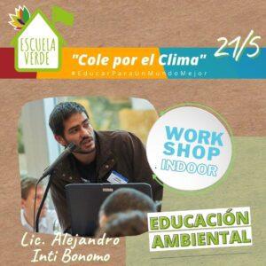 WORKSHOP INDOOR EDUCACION AMBIENTAL